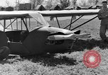 Image of Piper Cub plane Italy, 1944, second 47 stock footage video 65675052266
