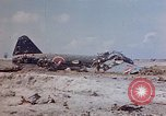 Image of U.S. 4th Marine Division in battle Marshall Islands, 1944, second 11 stock footage video 65675052298