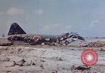 Image of U.S. 4th Marine Division in battle Marshall Islands, 1944, second 12 stock footage video 65675052298