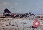 Image of U.S. 4th Marine Division in battle Marshall Islands, 1944, second 13 stock footage video 65675052298