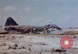 Image of U.S. 4th Marine Division in battle Marshall Islands, 1944, second 15 stock footage video 65675052298
