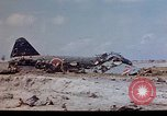 Image of U.S. 4th Marine Division in battle Marshall Islands, 1944, second 16 stock footage video 65675052298