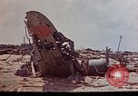 Image of U.S. 4th Marine Division in battle Marshall Islands, 1944, second 17 stock footage video 65675052298