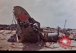 Image of U.S. 4th Marine Division in battle Marshall Islands, 1944, second 18 stock footage video 65675052298
