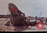 Image of U.S. 4th Marine Division in battle Marshall Islands, 1944, second 19 stock footage video 65675052298