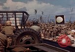 Image of U.S. 4th Marine Division in battle Marshall Islands, 1944, second 23 stock footage video 65675052298