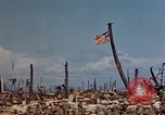 Image of U.S. 4th Marine Division in battle Marshall Islands, 1944, second 27 stock footage video 65675052298