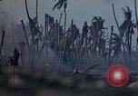 Image of U.S. 4th Marine Division in battle Marshall Islands, 1944, second 32 stock footage video 65675052298