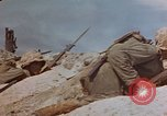 Image of U.S. 4th Marine Division in battle Marshall Islands, 1944, second 42 stock footage video 65675052298