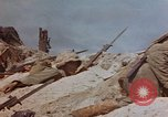 Image of U.S. 4th Marine Division in battle Marshall Islands, 1944, second 43 stock footage video 65675052298