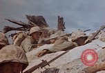 Image of U.S. 4th Marine Division in battle Marshall Islands, 1944, second 45 stock footage video 65675052298