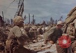 Image of U.S. 4th Marine Division in battle Marshall Islands, 1944, second 46 stock footage video 65675052298
