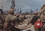 Image of U.S. 4th Marine Division in battle Marshall Islands, 1944, second 48 stock footage video 65675052298