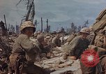 Image of U.S. 4th Marine Division in battle Marshall Islands, 1944, second 50 stock footage video 65675052298