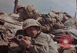 Image of U.S. 4th Marine Division in battle Marshall Islands, 1944, second 54 stock footage video 65675052298