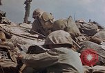 Image of U.S. 4th Marine Division in battle Marshall Islands, 1944, second 58 stock footage video 65675052298