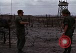 Image of United States soldiers Vietnam Bien Hoa Air Base, 1968, second 19 stock footage video 65675052302