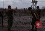 Image of United States soldiers Vietnam Bien Hoa Air Base, 1968, second 21 stock footage video 65675052302