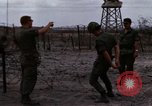 Image of United States soldiers Vietnam Bien Hoa Air Base, 1968, second 22 stock footage video 65675052302