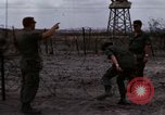 Image of United States soldiers Vietnam Bien Hoa Air Base, 1968, second 24 stock footage video 65675052302