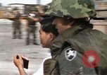 Image of United States troopers Saigon Vietnam Tan Son Nhut Air Base, 1968, second 49 stock footage video 65675052319