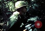 Image of 25th Infantry Division troops Vietnam, 1967, second 10 stock footage video 65675052330