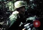 Image of 25th Infantry Division troops Vietnam, 1967, second 12 stock footage video 65675052330