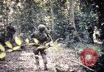 Image of 25th Infantry Division troops Vietnam, 1967, second 46 stock footage video 65675052330