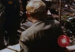 Image of American soldiers at captured VC tunnel complex Vietnam, 1968, second 15 stock footage video 65675052380
