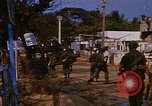 Image of US troops search for Viet Cong Saigon Vietnam, 1968, second 2 stock footage video 65675052381