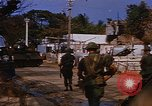Image of US troops search for Viet Cong Saigon Vietnam, 1968, second 10 stock footage video 65675052381