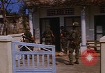 Image of US troops search for Viet Cong Saigon Vietnam, 1968, second 15 stock footage video 65675052381