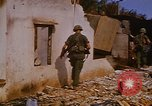 Image of US troops search for Viet Cong Saigon Vietnam, 1968, second 26 stock footage video 65675052381