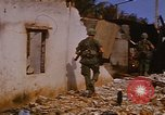 Image of US troops search for Viet Cong Saigon Vietnam, 1968, second 27 stock footage video 65675052381