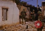 Image of US troops search for Viet Cong Saigon Vietnam, 1968, second 29 stock footage video 65675052381