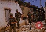 Image of US troops search for Viet Cong Saigon Vietnam, 1968, second 34 stock footage video 65675052381