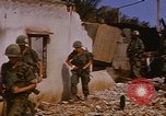 Image of US troops search for Viet Cong Saigon Vietnam, 1968, second 36 stock footage video 65675052381
