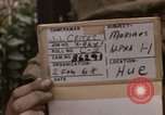 Image of H Company 2nd Battalion 5th Marines 1st Division Hue Vietnam, 1968, second 2 stock footage video 65675052403