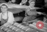 Image of war production workers at Douglas Aircraft Long Beach California USA, 1942, second 2 stock footage video 65675052406