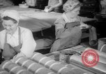 Image of war production workers at Douglas Aircraft Long Beach California USA, 1942, second 9 stock footage video 65675052406