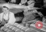 Image of war production workers at Douglas Aircraft Long Beach California USA, 1942, second 10 stock footage video 65675052406