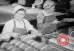Image of war production workers at Douglas Aircraft Long Beach California USA, 1942, second 11 stock footage video 65675052406