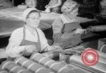 Image of war production workers at Douglas Aircraft Long Beach California USA, 1942, second 12 stock footage video 65675052406