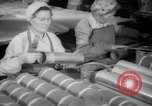 Image of war production workers at Douglas Aircraft Long Beach California USA, 1942, second 13 stock footage video 65675052406