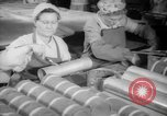 Image of war production workers at Douglas Aircraft Long Beach California USA, 1942, second 16 stock footage video 65675052406