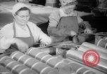 Image of war production workers at Douglas Aircraft Long Beach California USA, 1942, second 23 stock footage video 65675052406