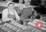 Image of war production workers at Douglas Aircraft Long Beach California USA, 1942, second 25 stock footage video 65675052406