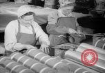 Image of war production workers at Douglas Aircraft Long Beach California USA, 1942, second 26 stock footage video 65675052406