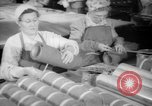 Image of war production workers at Douglas Aircraft Long Beach California USA, 1942, second 28 stock footage video 65675052406
