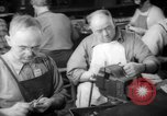 Image of war production workers at Douglas Aircraft Long Beach California USA, 1942, second 33 stock footage video 65675052406